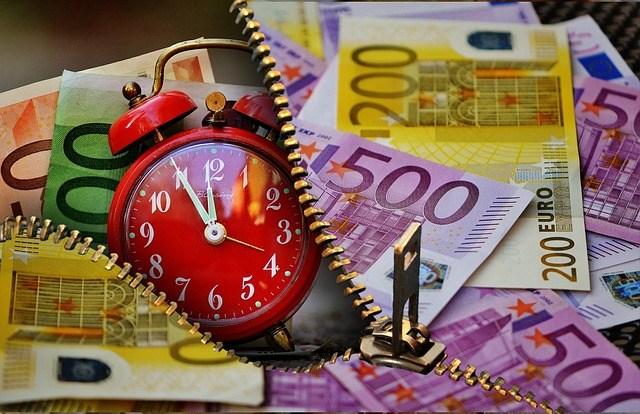 Daten weg Zeit ist Geld Beitragsbild