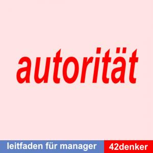 Über die Autorität: Leitfaden für Manager Titelbild