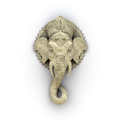 Urheber Elefant Skulptur Bild: Markus Gann